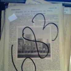 Coleccionismo de Revistas y Periódicos: FRANCIA. PARIS. EXPOSICION UNIVERSAL. 1899.. Lote 107634487