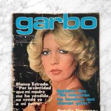 Collectionnisme de Revues et Journaux: GARBO - 1978 BARBARA REY, GLORIA MARIA, BLANCA ESTRADA, NATALIA FIGUEROA, MARIA CASAL, ROCIO DURCAL. Lote 108699935