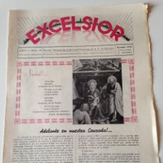 Coleccionismo de Revistas y Periódicos: REVISTA EXCELSIOR DICIEMBRE 1935 JUVENTUD FEMENINA A.C. MALLORCA.JOVENES PUERTO SOLLER Y FELANITX. Lote 108792583
