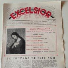 Coleccionismo de Revistas y Periódicos: REVISTA EXCELSIOR NOVIEMBRE 1935 JUVENTUD FEMENINA A.C. MALLORCA.JOVENES FELANITX. Lote 108792607