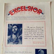 Coleccionismo de Revistas y Periódicos: REVISTA EXCELSIOR JUNIO 1936 JUVENTUD FEMENINA A.C. MALLORCA. COLEGIO STA CATALINA Y ALMUDAINA PALMA. Lote 108792671