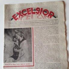 Coleccionismo de Revistas y Periódicos: REVISTA EXCELSIOR MAYO 1937 JUVENTUD FEMENINA A.C. MALLORCA GUERRA CIVIL. Lote 108792847
