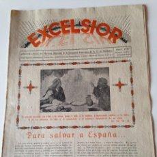 Coleccionismo de Revistas y Periódicos: REVISTA EXCELSIOR ABRIL 1937 JUVENTUD FEMENINA A.C. MALLORCA GUERRA CIVIL.VALLDEMOSSA. Lote 108792911
