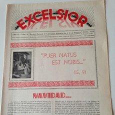 Coleccionismo de Revistas y Periódicos: REVISTA EXCELSIOR DICIEMBRE 1936 JUVENTUD FEMENINA A.C. MALLORCA GUERRA CIVIL . CAPDEPERA. Lote 108793111