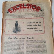 Coleccionismo de Revistas y Periódicos: REVISTA EXCELSIOR NOVIEMBRE 1937 JUVENTUD FEMENINA A.C. MALLORCA GUERRA CIVIL. Lote 108793155