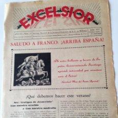 Coleccionismo de Revistas y Periódicos: REVISTA EXCELSIOR JULIO 1937 JUVENTUD FEMENINA A.C. MALLORCA GUERRA CIVIL. Lote 108793247