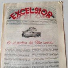 Coleccionismo de Revistas y Periódicos: REVISTA EXCELSIOR ENERO 1938 JUVENTUD FEMENINA A.C. MALLORCA GUERRA CIVIL,CALVIA,LLOMBARDS,CAMPOS. Lote 108793335