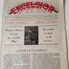 Coleccionismo de Revistas y Periódicos: REVISTA EXCELSIOR DICIEMBRE 1937 JUVENTUD FEMENINA A.C. MALLORCA GUERRA CIVIL, JOVENES CALVIA. Lote 108793371