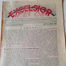 Coleccionismo de Revistas y Periódicos: REVISTA EXCELSIOR NOVIEMBRE 1938 JUVENTUD FEMENINA A.C. MALLORCA GUERRA CIVIL. Lote 108793423
