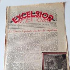 Coleccionismo de Revistas y Periódicos: REVISTA EXCELSIOR JULIO 1938 JUVENTUD FEMENINA A.C. MALLORCA GUERRA CIVIL.MORALIDAD EN LA PLAYA. Lote 108793495