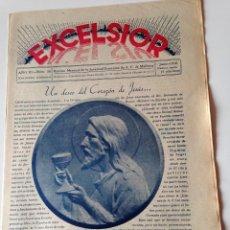 Coleccionismo de Revistas y Periódicos: REVISTA EXCELSIOR JUNIO 1938 JUVENTUD FEMENINA A.C.MALLORCA GUERRA CIVIL, PINA,DEYA,RANDA. Lote 108793519