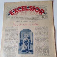 Coleccionismo de Revistas y Periódicos: REVISTA EXCELSIOR MAYO 1938 JUVENTUD FEMENINA A.C.MALLORCA GUERRA CIVIL,JOVENES ALCUDIA. Lote 108793579