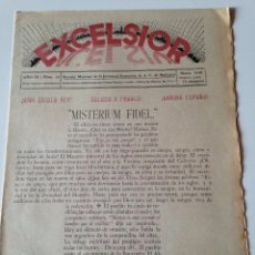 Coleccionismo de Revistas y Periódicos: REVISTA EXCELSIOR MARZO 1938 JUVENTUD FEMENINA A.C. MALLORCA GUERRA CIVIL,FELANITX. Lote 108793599