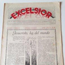 Coleccionismo de Revistas y Periódicos: REVISTA EXCELSIOR FEBRERO 1938 JUVENTUD FEMENINA AC MALLORCA.GUERRA CIVIL.FRANCO.. Lote 108793615