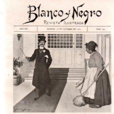 Collezionismo di Riviste e Giornali: REVISTA BLANCO Y NEGRO Nº 964. MADRID, 23 DE OCTUBRE DE 1909. VER ARTÍCULOS:. Lote 108793719