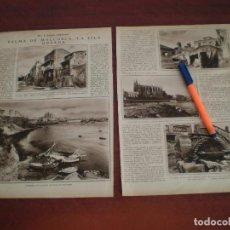 Coleccionismo de Revistas y Periódicos: PALMA MALLORCA- LA ISLA DORADA - RECORTE PRENSA - AÑOS 20 -VER DETALLES. Lote 108888939