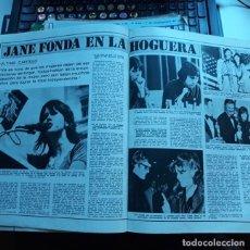 Coleccionismo de Revistas y Periódicos: JANE FONDA. Lote 108928291