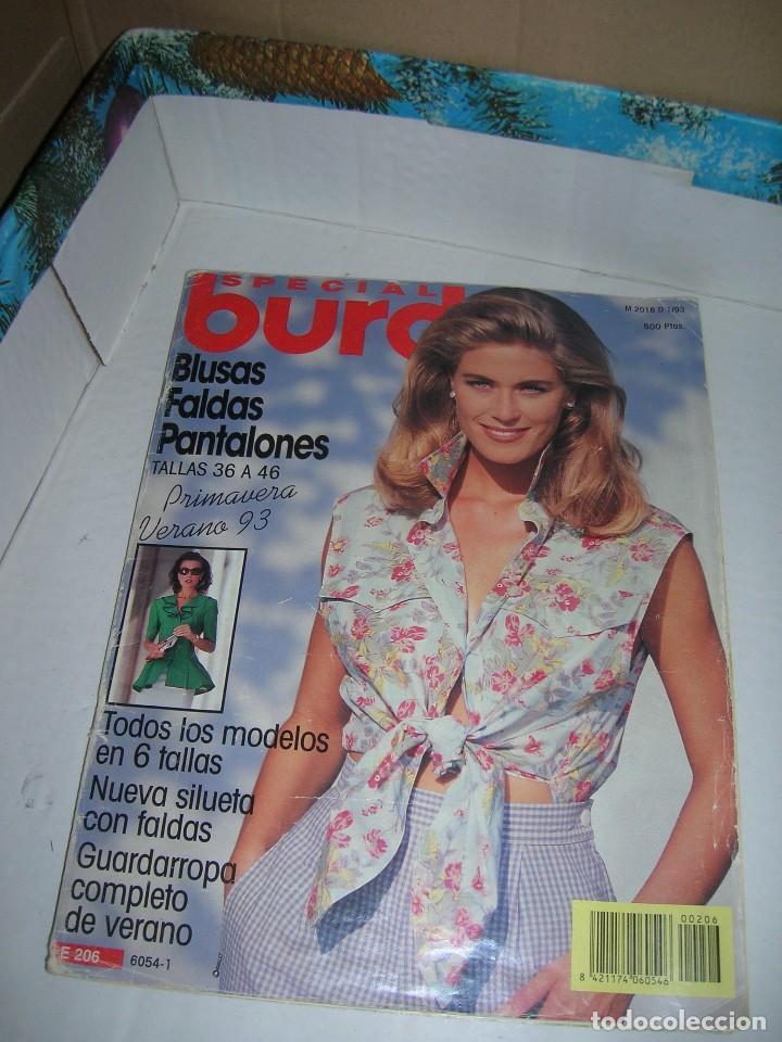 REVISTA BURDA ESPECIAL. E 206. PRIMAVERA-VERANO 1993. (Coleccionismo - Revistas y Periódicos Modernos (a partir de 1.940) - Otros)