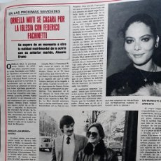 Coleccionismo de Revistas y Periódicos: ORNELLA MUTI ALESSIO ORANO. Lote 108977807