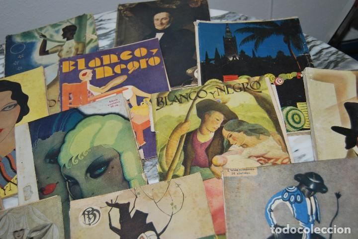 Coleccionismo de Revistas y Periódicos: REVISTA BLANCO Y NEGRO - 24 NÚMEROS - AÑOS 1933, 1934, 1935 Y 1936 - Foto 3 - 108990879