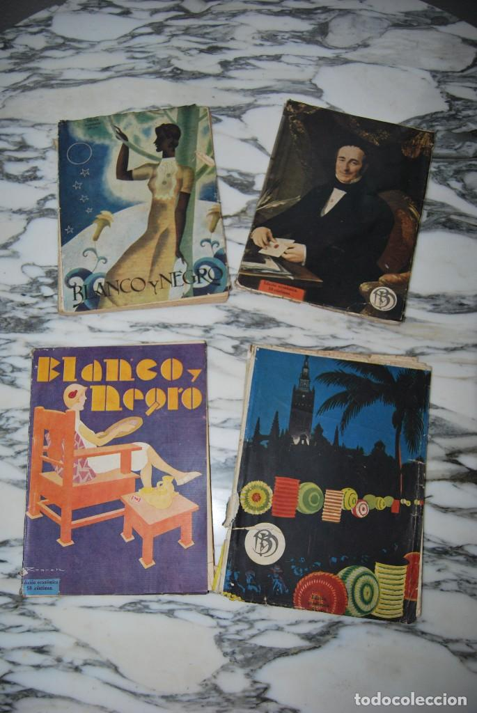 Coleccionismo de Revistas y Periódicos: REVISTA BLANCO Y NEGRO - 24 NÚMEROS - AÑOS 1933, 1934, 1935 Y 1936 - Foto 6 - 108990879