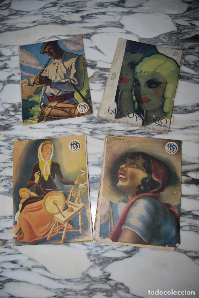 Coleccionismo de Revistas y Periódicos: REVISTA BLANCO Y NEGRO - 24 NÚMEROS - AÑOS 1933, 1934, 1935 Y 1936 - Foto 8 - 108990879