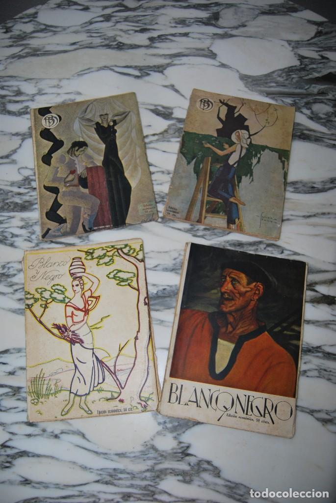 Coleccionismo de Revistas y Periódicos: REVISTA BLANCO Y NEGRO - 24 NÚMEROS - AÑOS 1933, 1934, 1935 Y 1936 - Foto 9 - 108990879