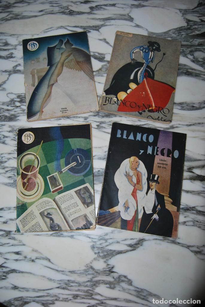 Coleccionismo de Revistas y Periódicos: REVISTA BLANCO Y NEGRO - 24 NÚMEROS - AÑOS 1933, 1934, 1935 Y 1936 - Foto 10 - 108990879