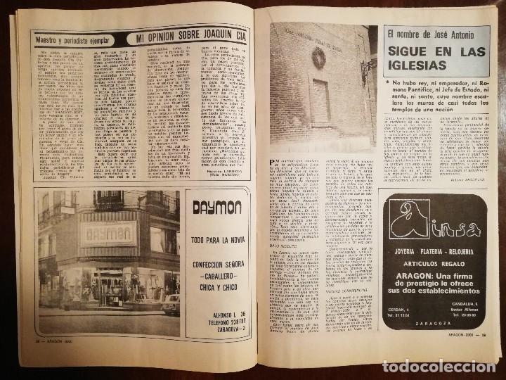 Coleccionismo de Revistas y Periódicos: REVISTA ARAGON 2000 Nº13 AÑO 1977 - PAGINAS ESPECIALES DE ALCAÑIZ - Foto 2 - 109054775