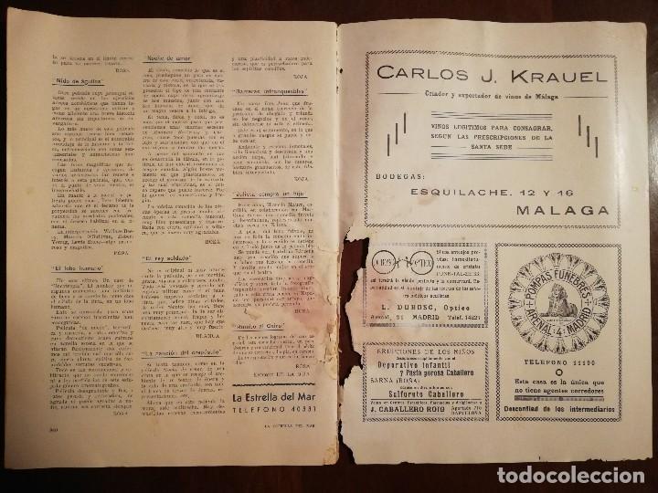 Coleccionismo de Revistas y Periódicos: REVISTA LA ESTRELLA DEL MAR - MONASTERIO DE GUADALUPE , EL HUMILLADERO Año 1935 - Foto 2 - 109055191