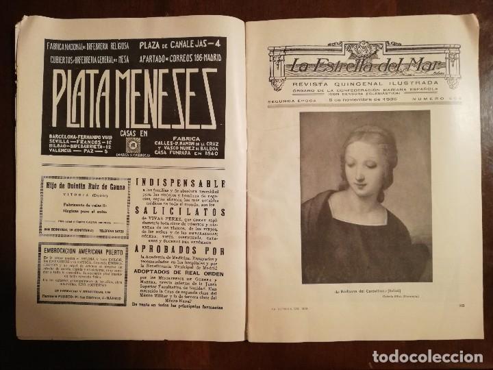 Coleccionismo de Revistas y Periódicos: REVISTA LA ESTRELLA DEL MAR - MONASTERIO DE GUADALUPE , EL HUMILLADERO Año 1935 - Foto 4 - 109055191