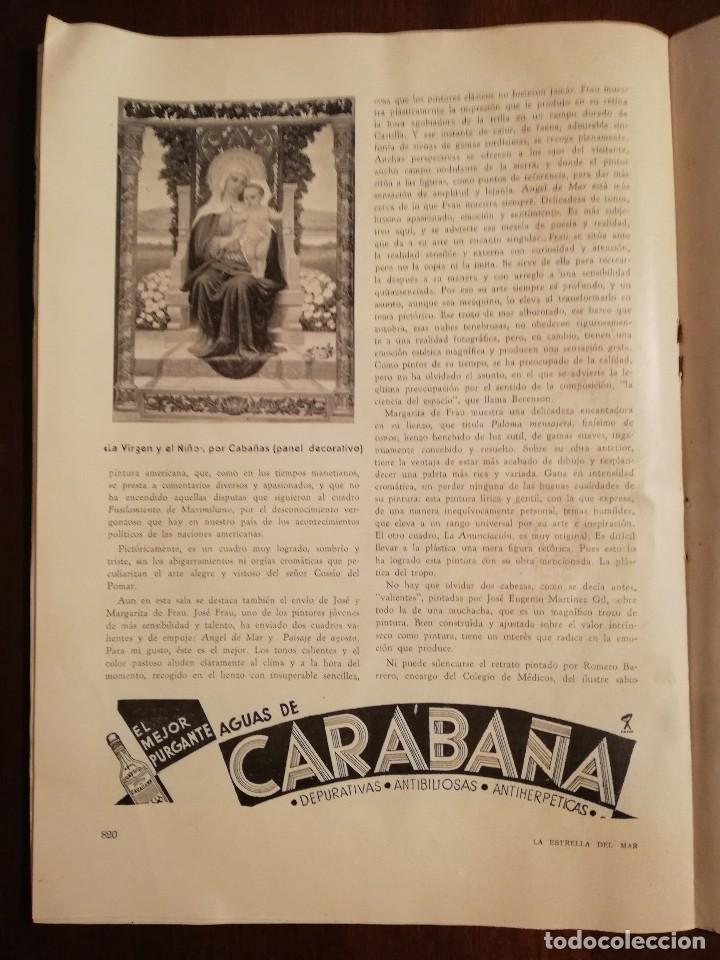 Coleccionismo de Revistas y Periódicos: REVISTA LA ESTRELLA DEL MAR - MONASTERIO DE GUADALUPE , EL HUMILLADERO Año 1935 - Foto 5 - 109055191