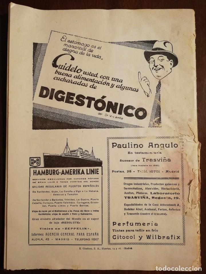 Coleccionismo de Revistas y Periódicos: REVISTA LA ESTRELLA DEL MAR - MONASTERIO DE GUADALUPE , EL HUMILLADERO Año 1935 - Foto 6 - 109055191