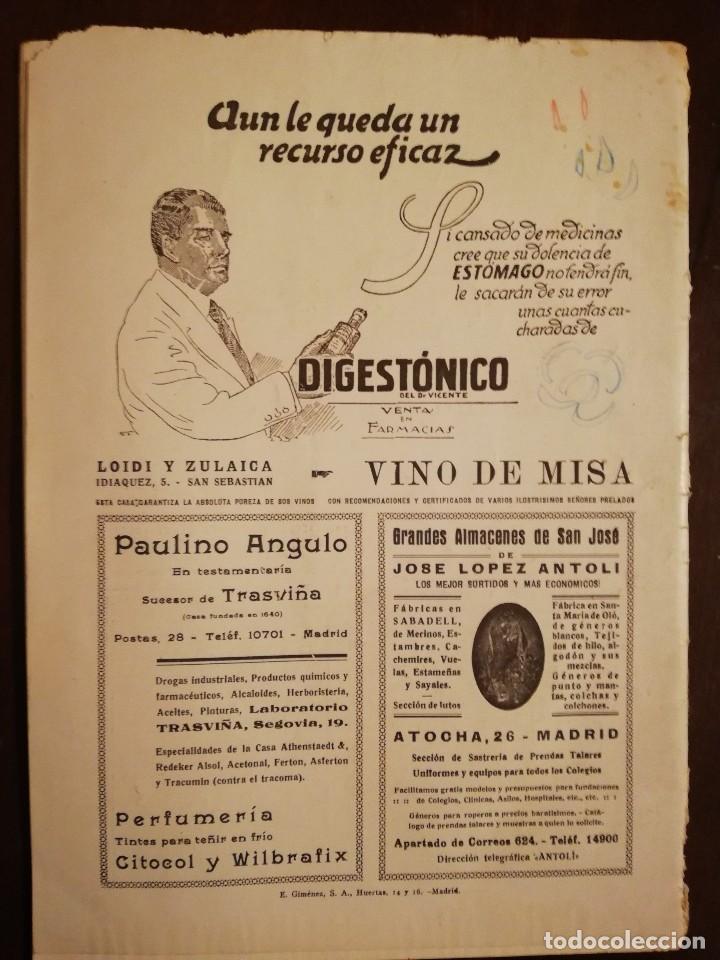 Coleccionismo de Revistas y Periódicos: REVISTA LA ESTRELLA DEL MAR - Los Siete Dolores de la Santisima Virgen -Catedral de Amberes Año 1931 - Foto 2 - 109055247