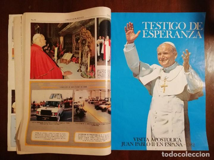 Coleccionismo de Revistas y Periódicos: REVISTA DEL VIAJE APOSTOLICO DE JUAN PABLO II A ESPAÑA 1982 - L´OSSERVATORE ROMANO - Foto 3 - 109055471