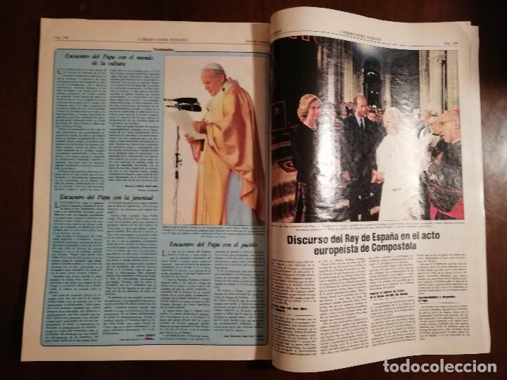 Coleccionismo de Revistas y Periódicos: REVISTA DEL VIAJE APOSTOLICO DE JUAN PABLO II A ESPAÑA 1982 - L´OSSERVATORE ROMANO - Foto 6 - 109055471