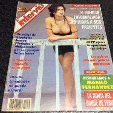 Coleccionismo de Revistas y Periódicos: INTERVIU Nº 936, MARILO FERNANDEZ, RAMONCIN, AÑO 1994. Lote 288979473