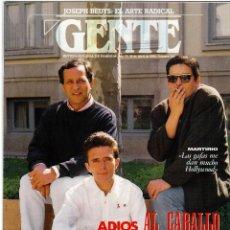 Coleccionismo de Revistas y Periódicos: 1994. MARTIRIO. JULIO ALBERTO. JOSEPH BEUYS. ALMA MAHLER. BEATRIZ SANTANA.. Lote 109068871