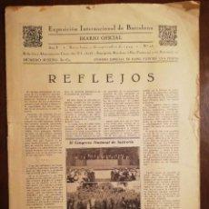 Coleccionismo de Revistas y Periódicos: EXPOSICION INTERNACIONAL DE BARCELONA -SEPTIEMBRE 1929 Nº 26. Lote 109133643