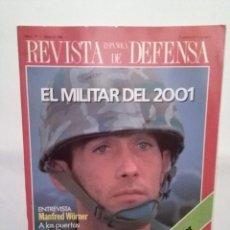 Coleccionismo de Revistas y Periódicos: REVISTA ESPAÑOLA DE DEFENSA Nº 1 MARZO 1988.MUJER Y EJERCITO.SIDA Y FUERZAS ARMADAS.CRISIS DEL GOLFO. Lote 109147267