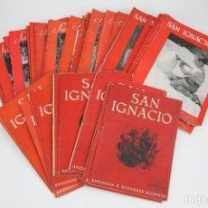Coleccionismo de Revistas y Periódicos: CONJUNTO PUBLICACIONES/REVISTAS RELIGIOSAS -SAN IGNACIO / ANTIGUOS Y ACTUALES ALUMNOS- AÑOS 1945/55. Lote 109276355