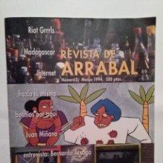 Coleccionismo de Revistas y Periódicos: REVISTA DE ARRABAL Nº 3 MARZO 1994 ATXAGA. JUAN TAMARIZ .MANUEL RIVAS JULIAN HERNANDEZ. RIOT GRRRLS. Lote 109347275