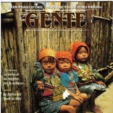 Coleccionismo de Revistas y Periódicos: GENTE. KUNAS. ALEJANDRA TORRAY. JOAQUIN CORTÉS. HAN DONG KYU. MARTA SANCHEZ. MARLENE DIETRICH. 1993. Lote 109356379