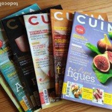 Coleccionismo de Revistas y Periódicos: 6 REVISTAS 'CUINA'. NÚM. 109-112-113-116-117-118 (2010-2011). Lote 109359911