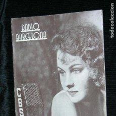 Coleccionismo de Revistas y Periódicos: RADIO BARCELONA Nº580 AÑO 1935 . Lote 109477003