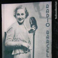 Coleccionismo de Revistas y Periódicos: RADIO BARCELONA Nº565 AÑO 1935. Lote 109478231