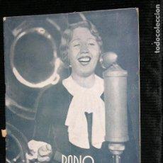 Coleccionismo de Revistas y Periódicos: RADIO BARCELONA Nº553 AÑO 1935. Lote 109483583