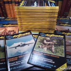 Coleccionismo de Revistas y Periódicos: GRAN LOTE DE 57 REVISTAS DE DEFENSA INTERNACIONAL DE EJÉRCITOS Y ARMAMENTO - AÑOS 80 - BUEN ESTADO . Lote 109534275