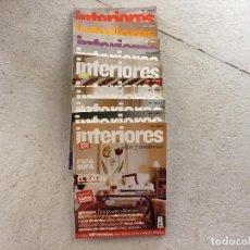 Coleccionismo de Revistas y Periódicos: REVISTA INTERIORES, IDEAS Y TENDENCIAS. 10 REVISTAS. Lote 109548491