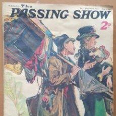 Coleccionismo de Revistas y Periódicos: REVISTA THE PASSING SHOW (EN INGLES) Nº 11 JUNIO 1932 PUBLICIDAD DE EPOCA. Lote 109551023